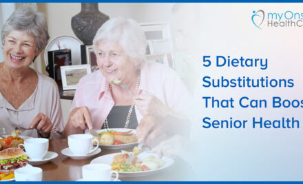 5 Dietary substitutions that can boost senior health