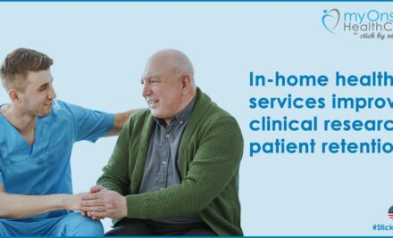 In-home health services improve clinical research patient retention.